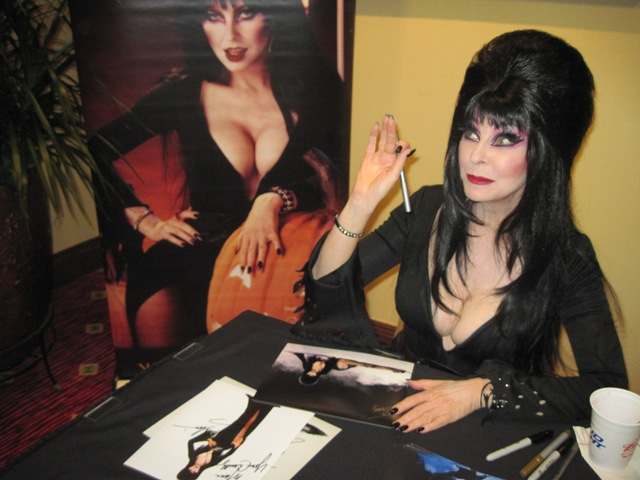 Elvira Mistress of the Dark waves