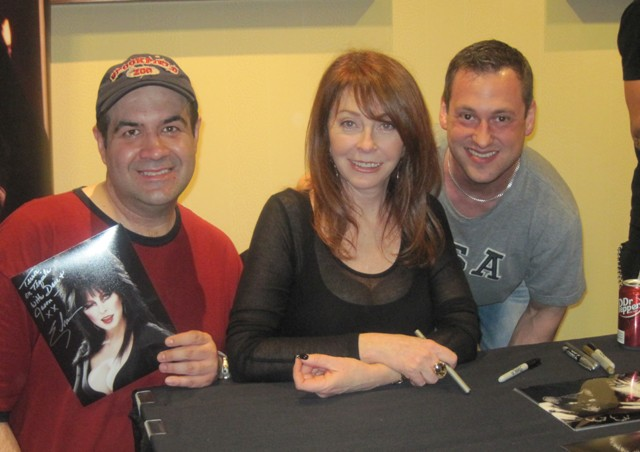 Cassandra Peterson with Dave Fuentes Jason Lucas