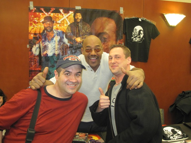 Dave Fuentes & Jason Lucas with Ken Foree