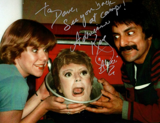 Adrienne King & Tom Savini