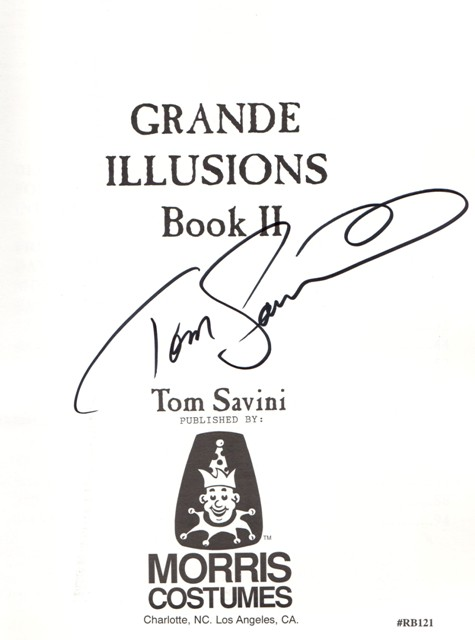 Tom Savini Grande Illusions Book II