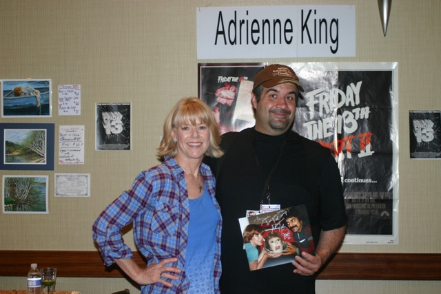 Adrienne King and Dave Fuentes