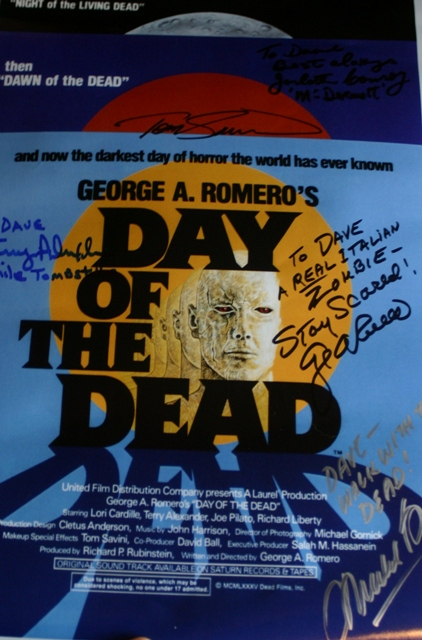 Day of the Dead Autographs
