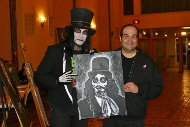 Inmage Dorian Gray Art Show Paintings Doctor Destruction