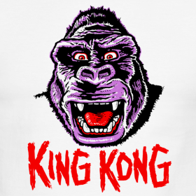 Be at the height of halloween fashion with mani yak - King kong design ...