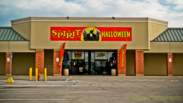 Spirit clothing store