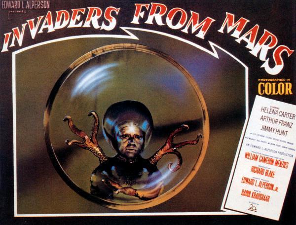 ALIEN INVASION FILMS OF THE 50u2019S: u201cInvaders From Mars ...