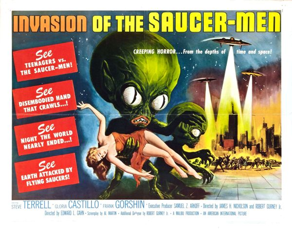 Image result for 50s ufo movies