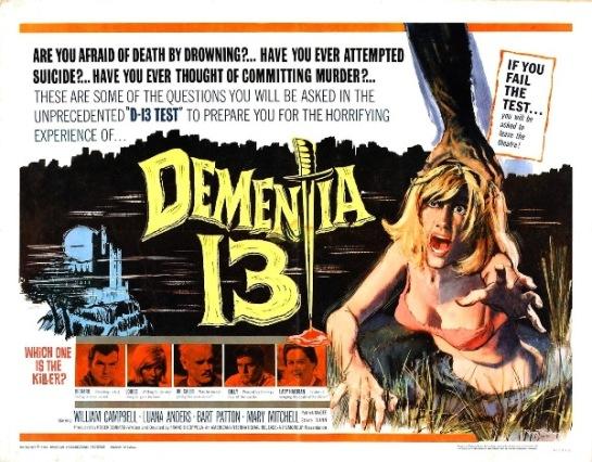 Dementia 13 Lobby Card