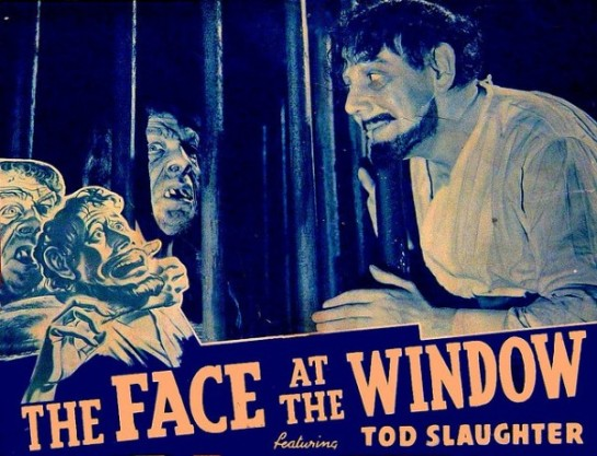 Face at The Window Poster