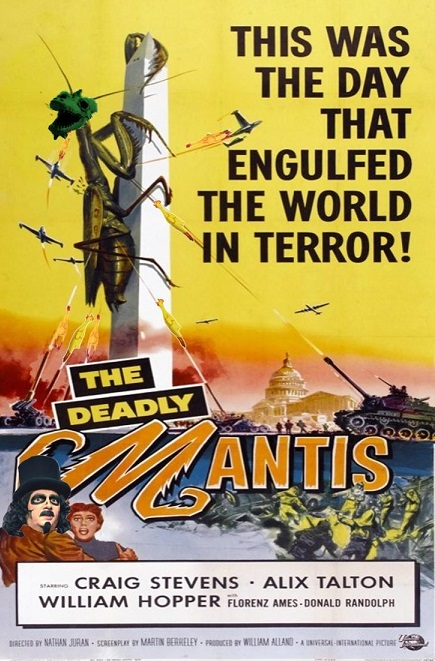 Deadly Mantis f