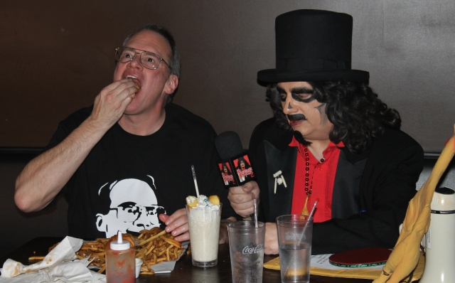Jim Cornette And The Svengoolie Burger Challenge Terror From