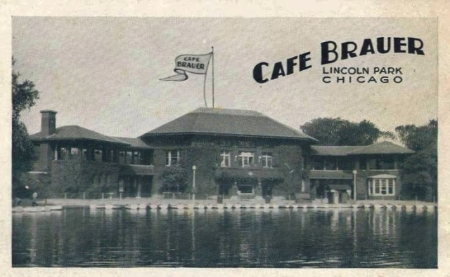 postcard-chicago-lincoln-park-cafe-brauer-c1940