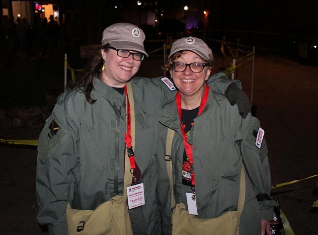 Alice & Elizabeth; A two-woman army!