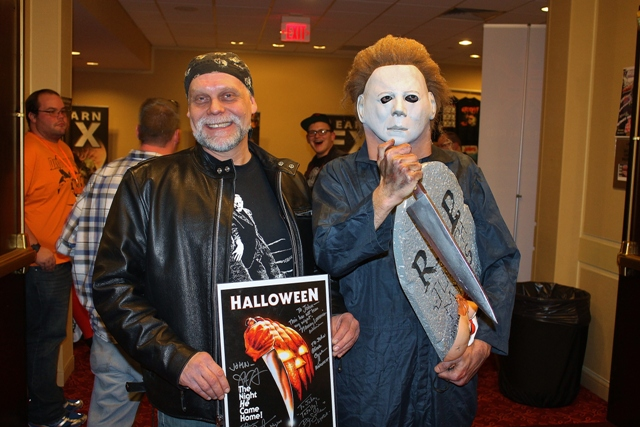 "John Doyle shows his devotion for ""Halloween"""