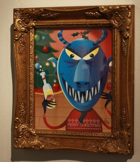 """Festive Krampus"" by Dave Metzger"