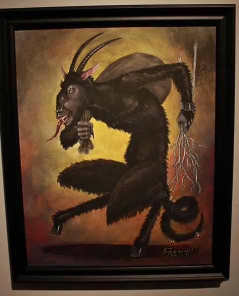 """Krampus Spaziergang"" by John French"