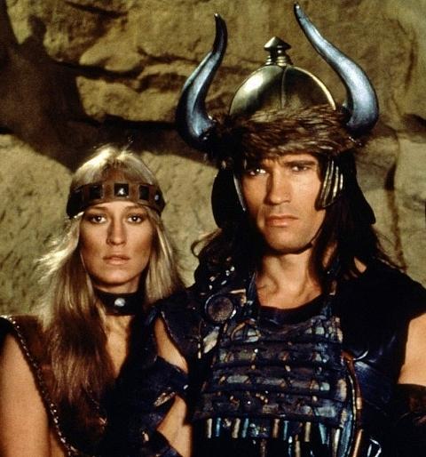 Bergman & Schwarzenegger in Conan