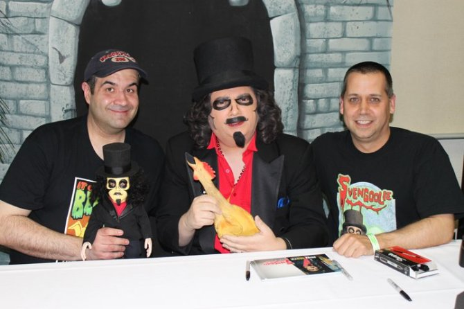 One of a kind Svengoolie doll has made its rounds...