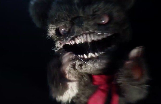 Krampus Teddy Bear