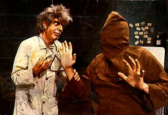 Morgus with Chopsley!