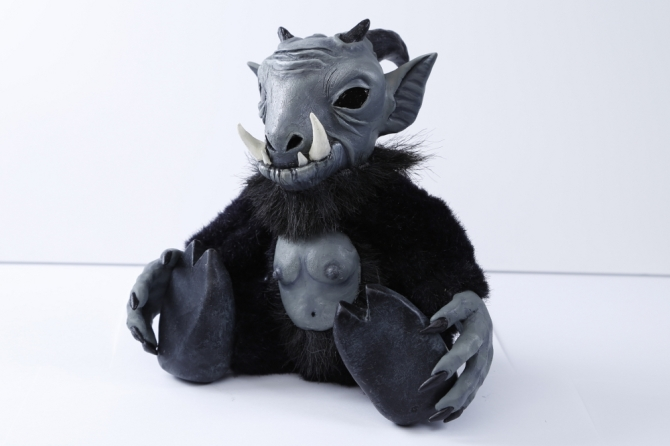 Anton Goat Doll