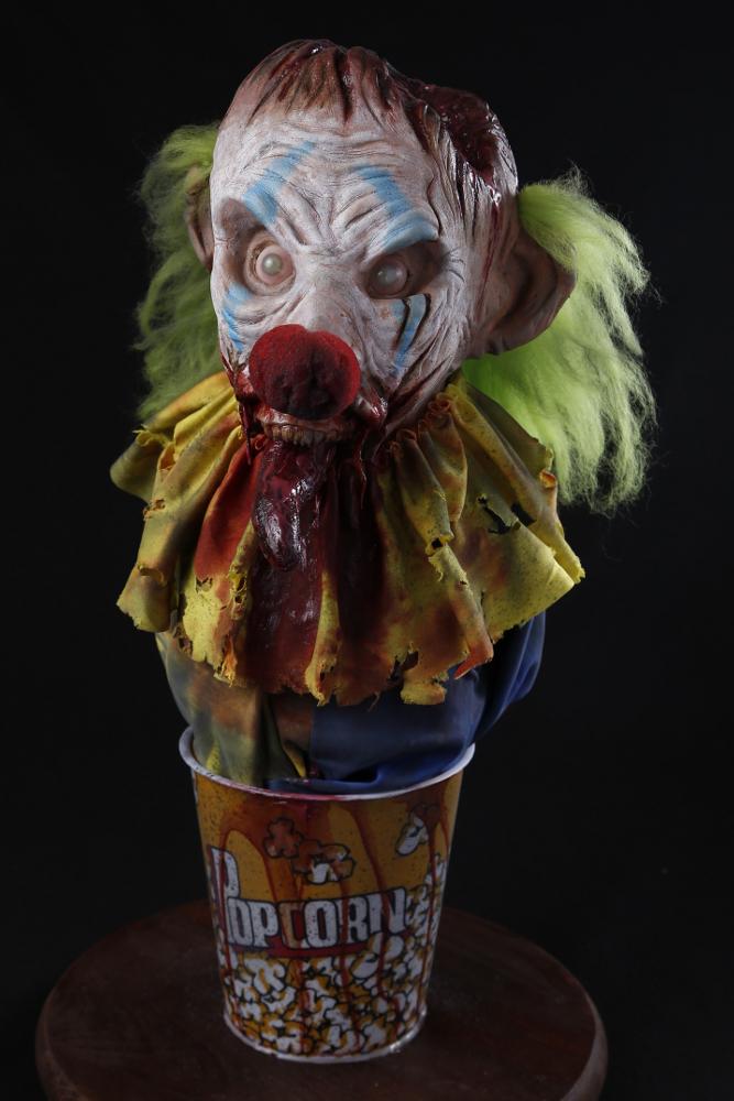 Zombie Clown Bust