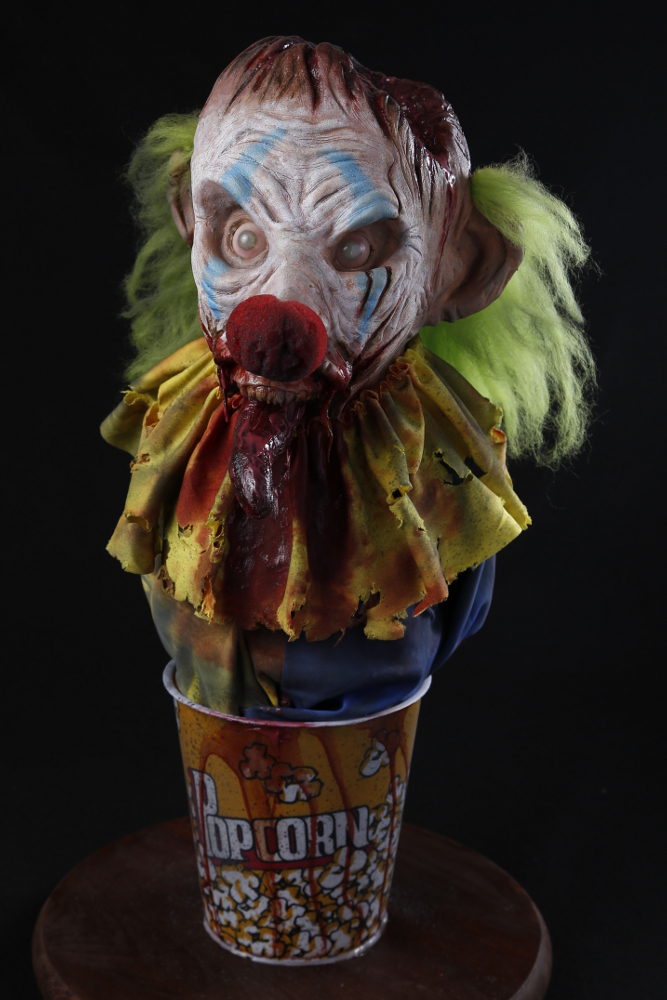 Zombie Clown Bust