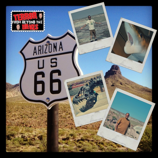 Route 66 sign- Seligman, Arizona