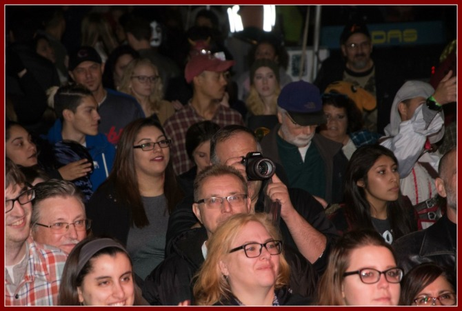 Photo of me photographing the event- courtesy Jim Roche