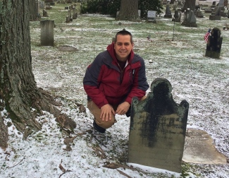 David Albaugh Erie Cemetery Witches Circle 2