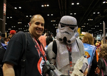Bling Stormtrooper with Dave Fuentes