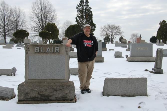 Dave Fuentes Blair Grave