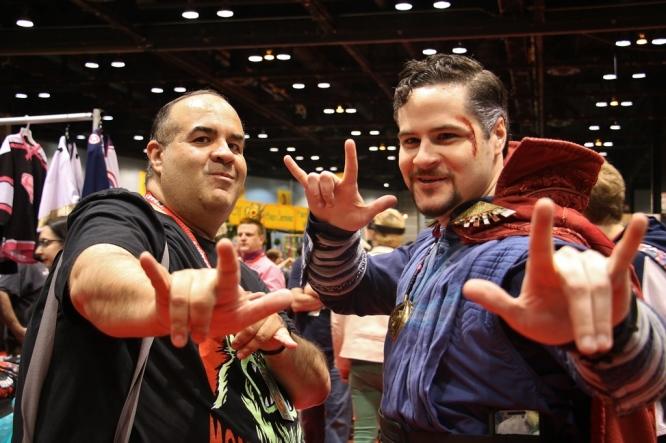 Doctor Strange & Dave Fuentes