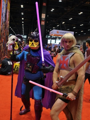 He-Man & Darth Skeletor