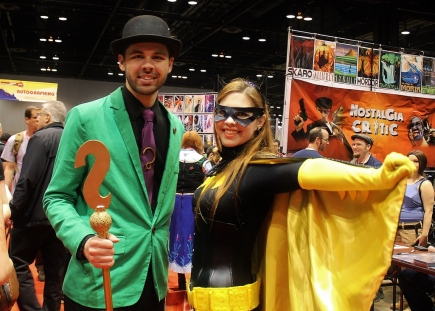 The Riddler & Batgirl C2E2