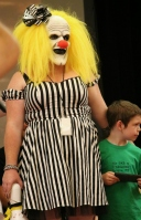Evil Girl Clown