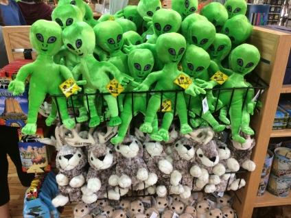 Aliens and Jackalopes