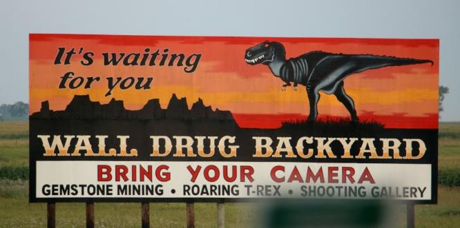 Wall Drug Sign 1