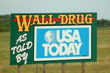 Wall Drug Sign 6