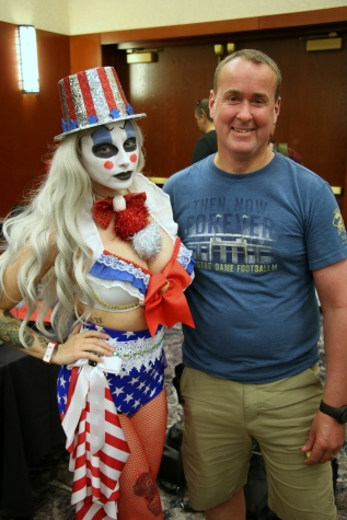 Chris and Miss America