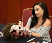 Danielle Harris Signing 3
