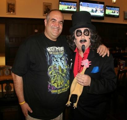 Dave Fuentes and Svengoolie