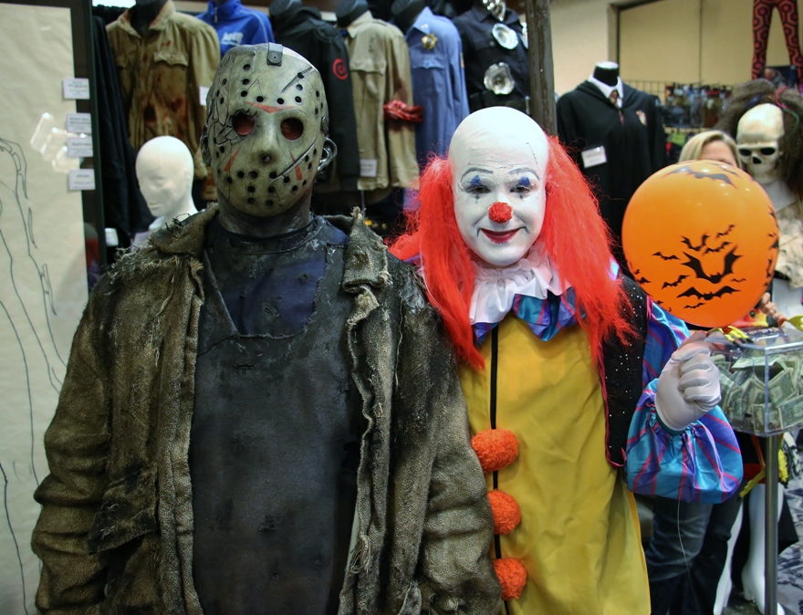 After the main convention activities ended the Marriottu0027s Freedom Ballroom opened for after-hour events. In celebration of the film (which we had no idea ...  sc 1 st  Terror from Beyond the Daves & The Stephen Kingu0027s IT Killer Clown Party at Horrorhound! | Terror ...