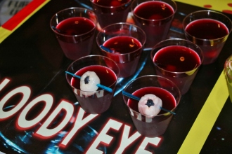 Bloody Eye Martinis