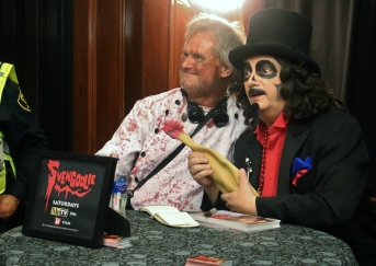 Duane Walton and Svengoolie