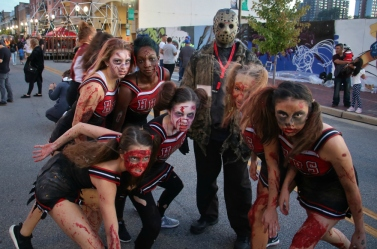 Jason and the Zombie Cheerleaders