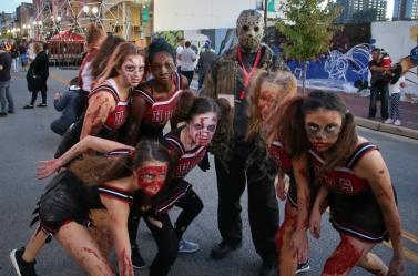 Jason and the Zombie Cheerleaders