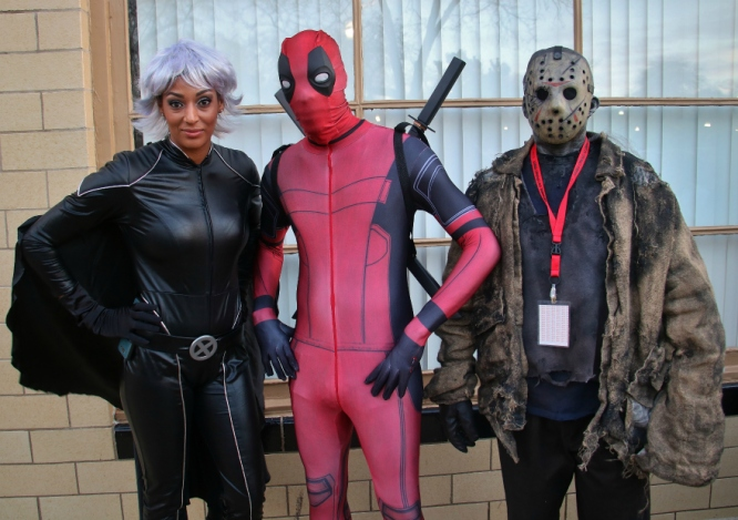 Storm and Deadpool