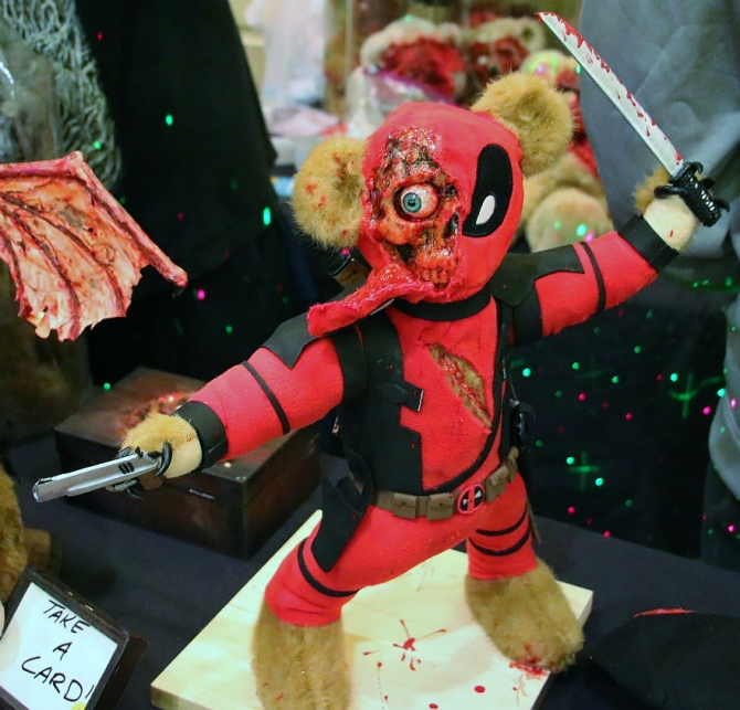 Deadpool Scare Bear
